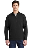 Triumph 1/4-Zip Pullover Black Thumbnail