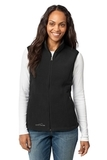 Women's Eddie Bauer Fleece Vest Black Thumbnail