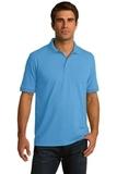 5.5-ounce Jersey Knit Polo Aquatic Blue Thumbnail