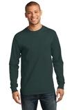 Tall Long Sleeve Essential T Dark Green Thumbnail
