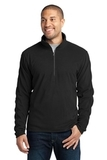 Microfleece 1/2-zip Pullover Black Thumbnail