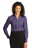Women's Crosshatch Easy Care Shirt Grape Harvest Thumbnail