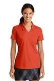 Women's Nike Golf Shirt Dri-FIT Micro Pique Polo Shirt Team Orange Thumbnail