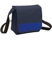 Lunch Cooler Messenger Bag Navy with Twilight Blue Thumbnail