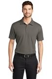 Port Authority Rapid Dry Mesh Polo Grey Smoke Thumbnail