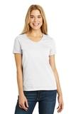 Women's V-neck T-shirt White Thumbnail