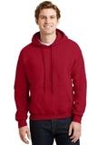 Heavyblend Hooded Sweatshirt Cherry Red Thumbnail