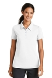 Women's Nike Golf Shirt Nike Sphere Dry Diamond White Thumbnail