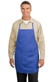 Full Length Apron Faded Blue Thumbnail