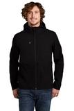 Castle Rock Hooded Soft Shell Jacket TNF Black Thumbnail