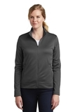 Women's Nike Golf Therma-FIT Full-Zip Fleece Anthracite Thumbnail