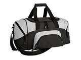 Improved Colorblock Small Sport Duffel Black with Grey Thumbnail