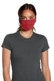 V.I.T. Shaped Face Mask 5 pack (100 packs 1 Case) Heather Red Thumbnail