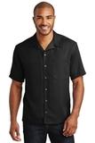 Easy Care Camp Shirt Black Thumbnail