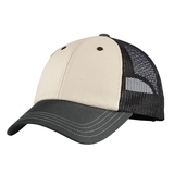 District Tri-tone Mesh Back Cap Sandstone with Charcoal and Black Thumbnail