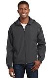 Hooded Raglan Jacket Graphite Thumbnail