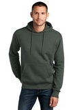 Perfect Weight Fleece Hoodie Heathered Forest Green Thumbnail
