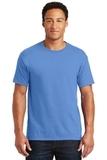 50/50 Cotton / Poly T-shirt Columbia Blue Thumbnail