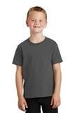Youth 5.5-oz 100 Cotton T-shirt Charcoal Thumbnail