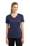 Women's V-neck Competitor Tee True Navy Thumbnail
