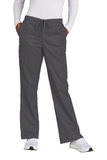 WonderWink Women's Tall WorkFlex Flare Leg Cargo Pant Pewter Thumbnail