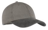 2-tone Pigment-dyed Cap Pebble with Black Thumbnail