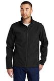 Eddie Bauer Shaded Crosshatch Soft Shell Jacket Black Thumbnail