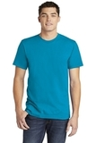 American Apparel Fine Jersey T-Shirt Teal Thumbnail