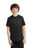 Youth Essential Performance Tee Jet Black Thumbnail
