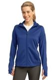 Women's Sport-tek Tech Fleece Full-zip Hooded Jacket True Royal Thumbnail