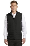 Collective Insulated Vest Deep Black Thumbnail