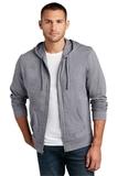 Young Men's Lightweight Jersey Full-zip Hoodie Dark Heather Grey Thumbnail