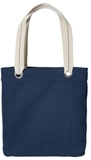 Allie Tote Navy with Chili Red Thumbnail