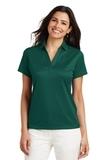 Women's Performance Fine Jacquard Polo Shirt Green Glen Thumbnail