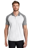 Nike Dry Raglan Polo White with Cool Grey Thumbnail