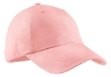Women's Garment-washed Cap Light Pink Thumbnail
