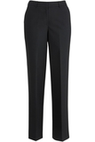 Redwood & Ross Signature Women's Wool Blend Flat Front Dress Pant Navy Thumbnail