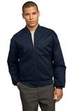 Team Style Jacket With Slash Pockets Navy Thumbnail