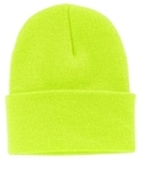 Knit Cap Neon Yellow Thumbnail