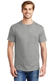 Beefy-t 100 Cotton T-shirt With Pocket Light Steel Thumbnail