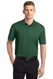 Sport-Tek Heather Contender Polo Forest Green Heather Thumbnail