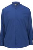 Men's Banded Collar Shirt Royal Thumbnail
