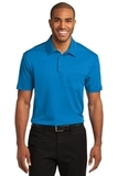 Silk Touch Performance Pocket Polo Brilliant Blue Thumbnail