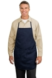 Full Length Apron Navy Thumbnail
