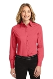 Women's Long Sleeve Easy Care Shirt Hibiscus Thumbnail