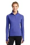 Women's Stretch 1/2-zip Pullover Iris Purple Thumbnail