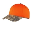 Safety Cap With Camo Brim Orange Blaze with Realtree Xtra Thumbnail