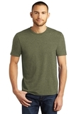 District Made Perfect Tri Crew Tee Military Green Frost Thumbnail