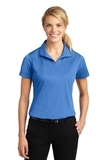 Women's Micropique Moisture Wicking Polo Shirt Blue Lake Thumbnail