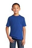Youth 5.5-oz 100 Cotton T-shirt True Royal Thumbnail